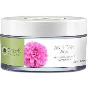 Buy Organic Harvest Anti Tan Scrub - Nykaa