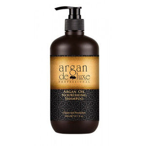 Buy Argan Deluxe Oil Nourishing Shampoo - Nykaa