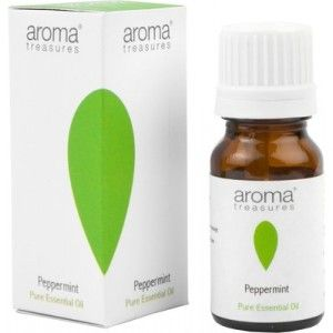 Buy Aroma Treasures Peppermint Pure Essential Oil - Nykaa