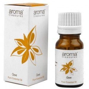 Buy Aroma Treasures Clove Pure Essential Oil - Nykaa
