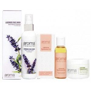 Buy Aroma Treasures No Pigmentation Mini combo (Set of 3) - Nykaa