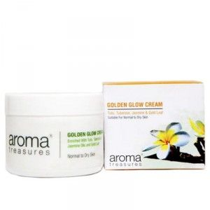 Buy Aroma Treasures Golden Glow Cream - Nykaa