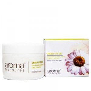 Buy Aroma Treasures Under Eye Gel - Nykaa