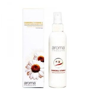 Buy Aroma Treasures Chamomile Vitamin-E- Soothing & Moisturizing Lotion - Nykaa