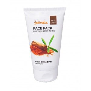 Buy Fabindia Haldi Chandan Lightening & Brightening Face Pack - Nykaa