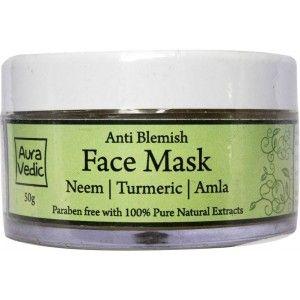 Buy AuraVedic Anti Blemish Face Mask - Nykaa