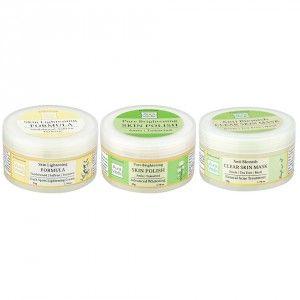 Buy Auravedic Clear Brightness Combo (set of 3) - Nykaa