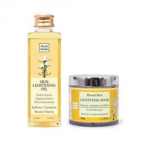Buy Auravedic Flawless Skin Lightening Kit - Nykaa