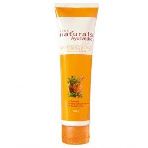 Buy Avon Naturals Ayurvedic Whitening 3 In 1 Cleanser Scrub Mask - Nykaa