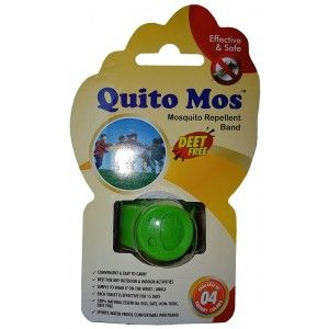 Buy Quito Mos Mosquito Repellent Band - Green - Nykaa