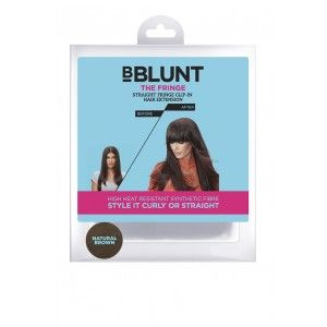 Buy BBLUNT The Fringe, Straight Fringe Clip In Hair Extension - Nykaa