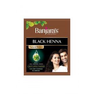 Buy Banjara's Black Henna Natural Brown - Nykaa