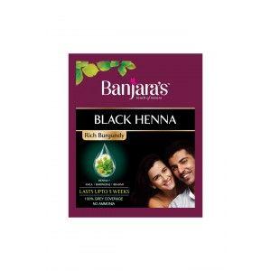 Buy Banjara's Black Henna Rich Burgundy - Nykaa