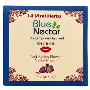 Buy Blue Nectar Anti Ageing Flower Valley Face Cream For Women - Nykaa