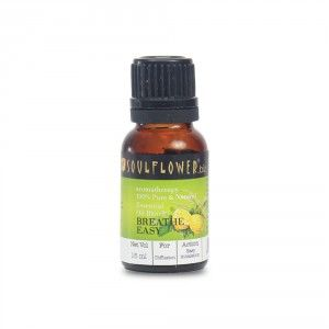 Buy Soulflower Breathe Easy Essential Oil - Nykaa