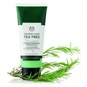 Buy The Body Shop Tea Tree Squeaky-Clean Scrub - Nykaa