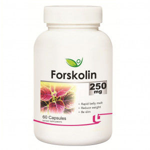 Buy Biotrex Forskolin 250mg 60 Capsules - Nykaa