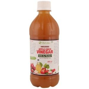 Buy By Nature Raw, Unfiltered Apple Cider Vinegar With Mother - Nykaa