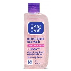Buy Clean & Clear Natural Bright Face Wash - Nykaa