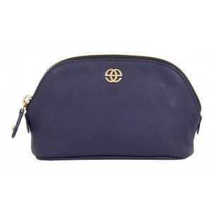 Buy Eske Sidonia Navy Blue Cosmetic Pouch - Nykaa