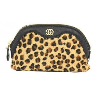 Buy Eske Shane Brown Fur Cosmetic Case - Nykaa