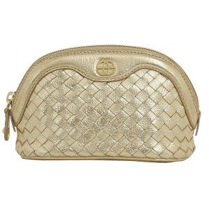 Buy Eske Penley Gold Cosmetic Case - Nykaa