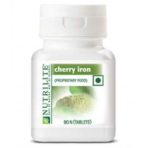 Buy Amway Nutrilite Cherry Iron - 90 Tablets - Nykaa