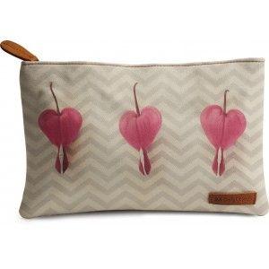 Buy DailyObjects Chevron Hearts Carry-All Pouch Medium - Nykaa
