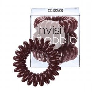 Buy Invisibobble Hair Ring - Chocolate Brown - Pack Of 3 - Nykaa