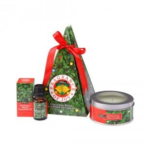 Buy Bipha Ayurveda Christmas Blend Essential Oil & Tin Candle Pack - Nykaa