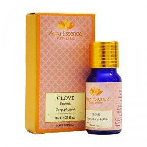 Buy Aura Essence Pure Clove Essential Oil - Nykaa