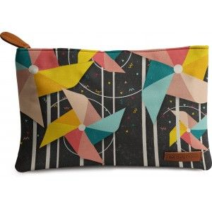 Buy DailyObjects Colourful Pinwheels Carry-All Pouch Medium - Nykaa