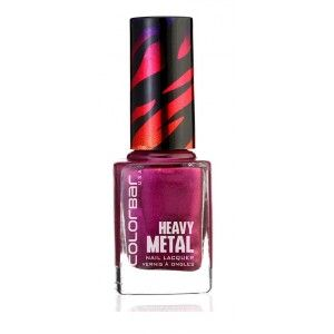 Buy Colorbar Heavy Metal Nail Lacquer - Nykaa