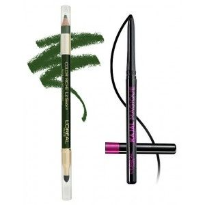 Buy L'Oreal Paris Color Riche Le Smoky Eyeliner - Antique Green 209 + Free Kajal Magique - Nykaa