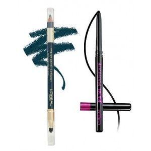 Buy L'Oreal Paris Color Riche Le Smoky Eyeliner - Stormy Sea 207 + Free Kajal Magique - Nykaa