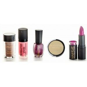 Buy Makeup Revolution Grape Delight Combo - Nykaa