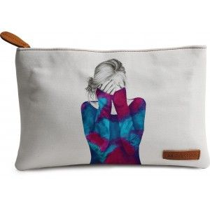 Buy DailyObjects Cosmic Girl Carry-All Pouch Medium - Nykaa