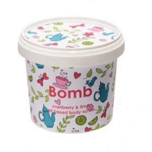 Buy Bomb Cosmetics Cranberry & Lime Shower Scrub - Nykaa