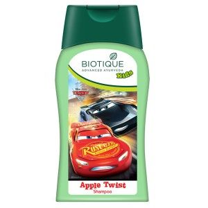 Buy Biotique Disney Baby Boy Bio Apple Twist Shampoo - Nykaa