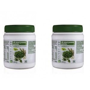 Buy Amway Nutrilite All Plant Protein 200 g - Set of 2 - Nykaa