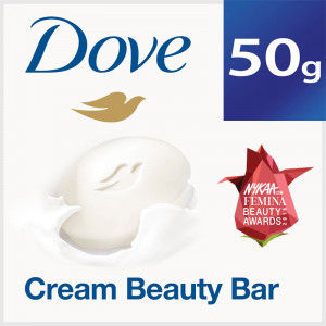 Buy Dove Cream Beauty Bathing Bar - Nykaa