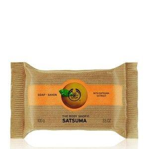 Buy The Body Shop Satsuma Soap - Nykaa