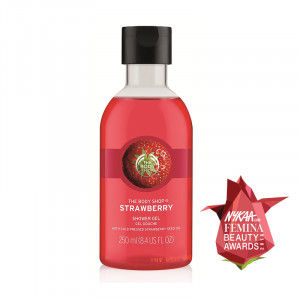 Buy The Body Shop Strawberry Shower Gel - Nykaa