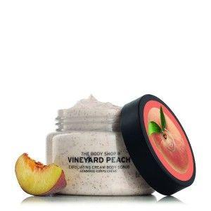 Buy The Body Shop Vineyard Peach Body Scrub - Nykaa