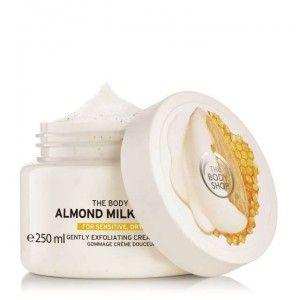 Buy The Body Shop Almond Milk & Honey Gently Exfoliating Cream Scrub - Nykaa
