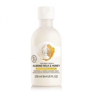Buy The Body Shop Almond Milk & Honey Soothing & Caring Shower Cream - Nykaa