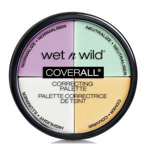 Buy Wet n Wild Photo Focus Correcting Palette - Color Commentary - Nykaa