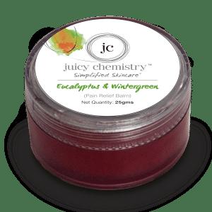 Buy Juicy Chemistry Eucalyptus & Wintergreen (Pain Relief Balm) - Nykaa