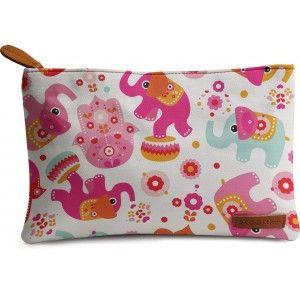 Buy DailyObjects Elephant Circus Carry-All Pouch Medium - Nykaa