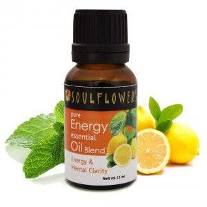 Buy Soulflower Energy Essential Oil - Nykaa